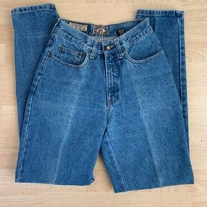 Vintage Express high waisted jeans size 26 or 3/4